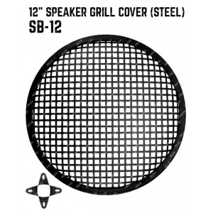 Speaker Grill Cover Steel 12 inches