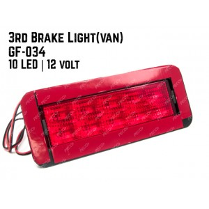 3rd Brake Light CF 034 10 LED 12v