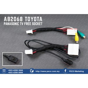 A82068 TOYOTA | PANASONIC TV FREE SOCKET