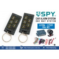 SPY Auto Security Car Alarm System One Way System - LC106 - LT531