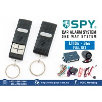 SPY Auto Security Car Alarm System One Way System - LT106 - 366