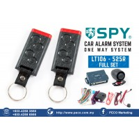 SPY Auto Security Car Alarm System One Way System - LT106 - 525R