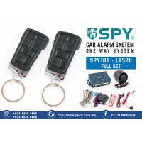 SPY Auto Security Car Alarm System One Way System - SPY106 - LT528