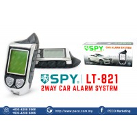 SPY 2WAY CAR ALARM SYSTEM LT-821