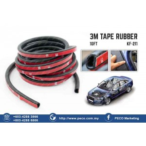 3M Tape RUBBER 10ft KF-211
