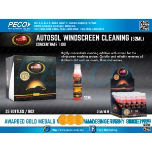 AUTOSOL WINDSCREEN CLEANING (32ML)