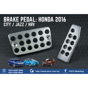 BRAKE PEDAL: HONDA CITY / JAZZ / HRV