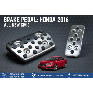 BRAKE PEDAL: HONDA ALL-NEW CIVIC 2016
