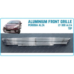 Aluminium Front Grille for Perodua Alza Top LY-300