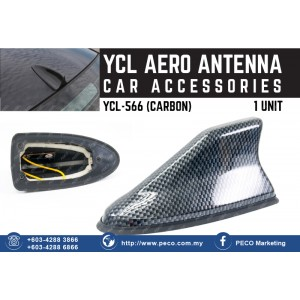 YCL AERO ANTENNA YCL-566 CARBON