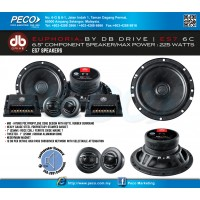 "EUPHORIA BY DB DRIVE ES7 6C 6.5"" Component Speaker"