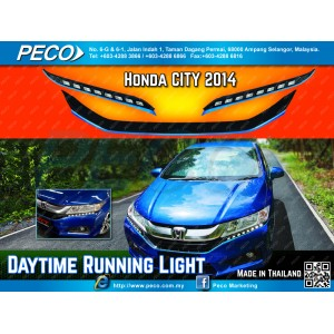 Fitt Daytime Running Light Honda City 2014