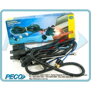 Hella High Performence Universal Head Lamp Wiring Harness