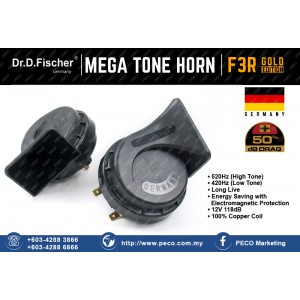 Dr.D.Fischer F3R Mega Tone Horn Gold Edition Germany