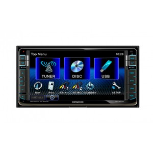 Kenwood - DDX630W - Double DIN Monitor for Toyota 200mm Panel