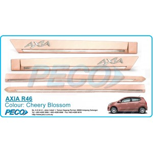 Perodua AXIA OEM Side Moulding - Cheery Blossom