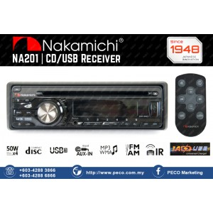 Nakamichi CD/USB Receiver NA201
