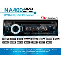 Nakamichi DVD CD USB RECEIVER NA400