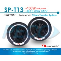 Nakamichi SP-T13 10W RMS 13mm Tweeter System