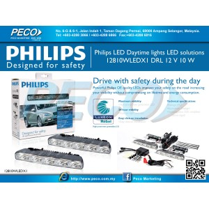 Philips LED Daytime lights LED solutions 12810WLEDX1