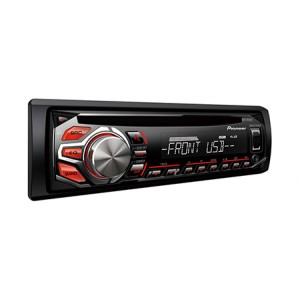 Pioneer DEH-X1650UB - Audio receiver with MIXTRAX, USB Direct Control for Certain Android Phones and Front USB port