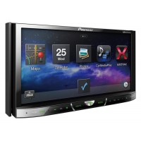 """Pioneer AVH-X4650DVD - In-Dash Double DIN DVD Multimedia AV Receiver with 7\"""" VGA Touch Display , MIXTRAX, USB Direct Control for iPod/iPhone and Certain Android Phones"""