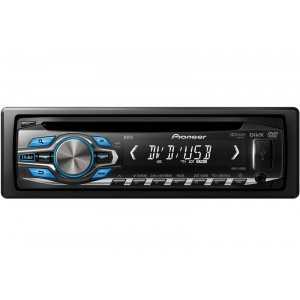 Pioneer DVH-345UB - In-car DVD andCD Player with Front USB