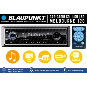 BLAUPUNKT Melbourne 120 USB / SD / AUX input / MP3 car radio