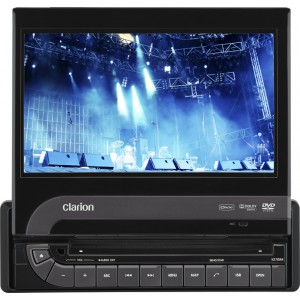 Clarion VZ709A DVD MULTIMEDIA STATION WITH 7-INCH TOUCH PANEL CONTROL