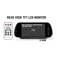 Rear View TFT LCD Monitor with MP5 Player CL-806H