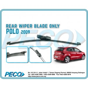 Rear Wiper Blade Volkswagen POLO 2009