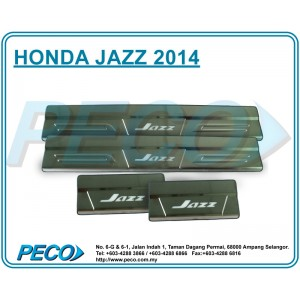 Honda Jazz 2014 Side Sill Plate with LED Light