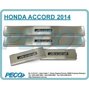Honda Accord 2014 Side Sill Plate with LED Light