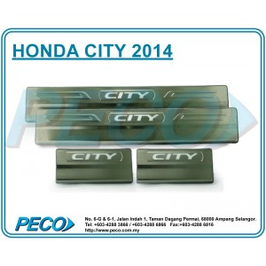 Honda City 2014 Side Sill Plate with LED Light