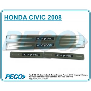 Honda Civic 2008 Side Sill Plate with LED Light