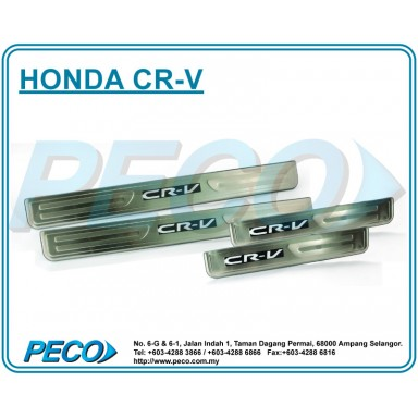 Honda CR-V 2012 Side Sill Plate with LED Light