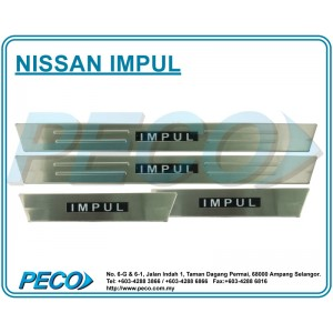 Nissan Impul Side Sill Plate with LED Light
