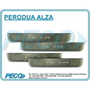 Perodua Alza Side Sill Plate with LED Light