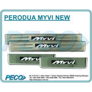 Perodua Myvi Side Sill Plate with LED Light