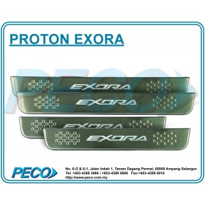Proton Exora Side Sill Plate with LED Light