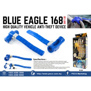 BLUE EAGLE DE-LUXE 168 HIGH QUALITY VEHICLE ANTI-THEFT DEVICE