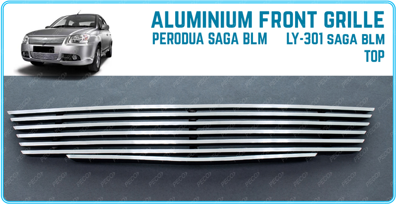 aluminium front grille for proton saga blm ly 301 top. Black Bedroom Furniture Sets. Home Design Ideas